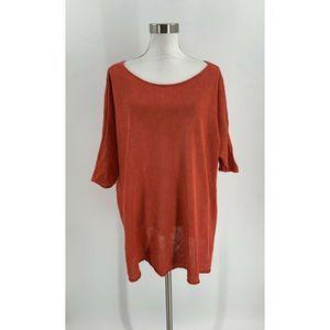 Eileen Fisher Sweater Size XL Women's Short Sleeve